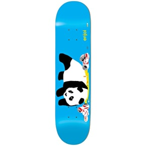 Enjoi Party Panda Skateboard Deck - Blue 8.25