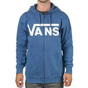 Vans Classic Zip Hoodie - Blue Ashes/Bright White