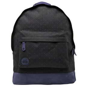 Mi-Pac Backpack - Canvas Dot Black/Blue