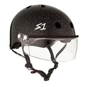 S1 Lifer Gen 2 Visor Helmet - Black Glitter Gloss