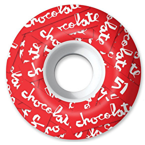 Chocolate All Over Chunk 99a Skateboard Wheels - 51mm