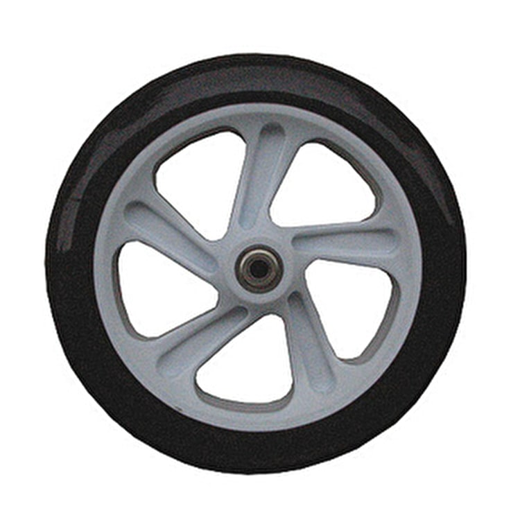 Micro White 200mm 78a Scooter Wheel