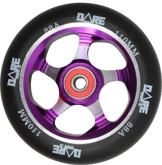 Image of Dare Motion Scooter Wheel - Purple 110mm