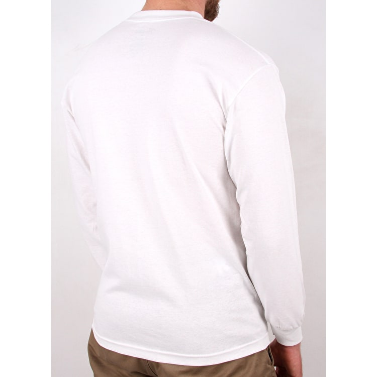 Primitive Tone Pennant Long Sleeve T shirt - White