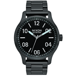 Nixon Patrol Watch - Black/Silver
