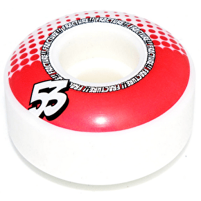 Fracture Drops Skateboard Wheels - Red 53mm