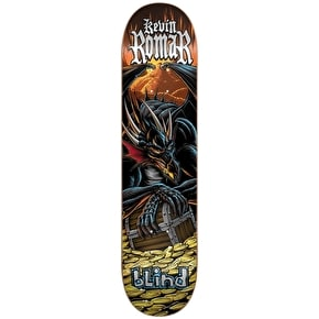 Blind Skateboard Deck - Fairy Tale Series Black Dragon R7 Romar 7.75