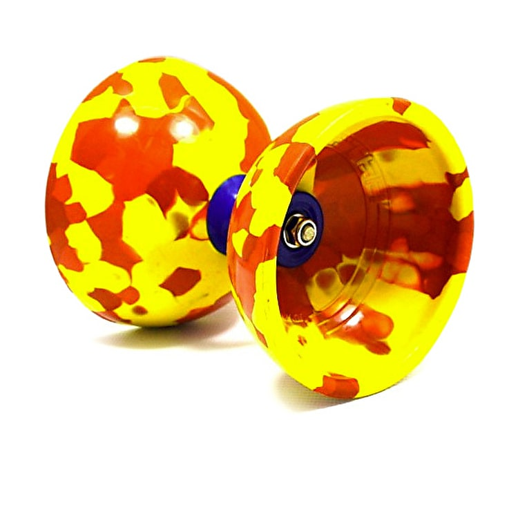 Juggle Dream Jester Diabolo Starter Pack - Red/ Yellow