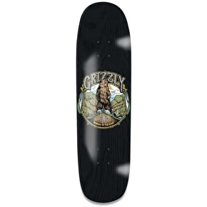 Grizzly King Of The Mountain Cruiser Deck - Black 8.5