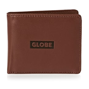 Globe Corroded II Wallet - Brown