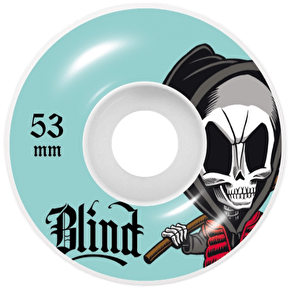 Blind Bone Thugs Skateboard Wheels - Aqua 53mm