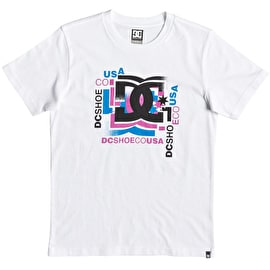 DC Scatter Kids T Shirt - White