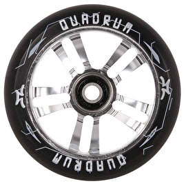 AO Quadrum 10-Star Scooter Wheel 110mm - Silver