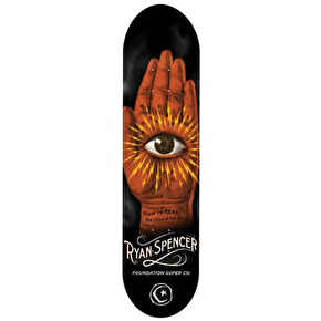 Foundation Horror Skateboard Deck - Spencer 8.25