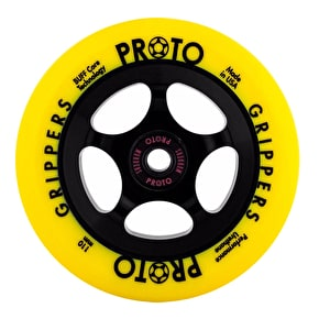 Proto 110mm Gripper Day-Glo Scooter Wheel - Yellow