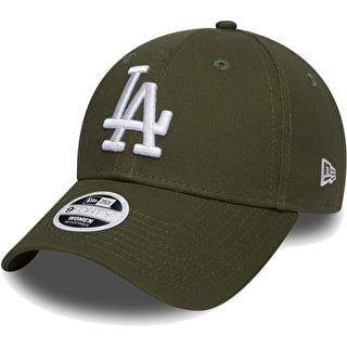 New Era League Essential 9Forty - LA Dodgers Cap - Rifle Green/Optic White