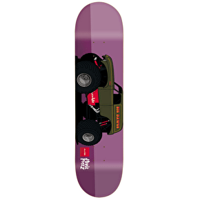 Chocolate Monster Trucks Skateboard Deck - Perez 8.25