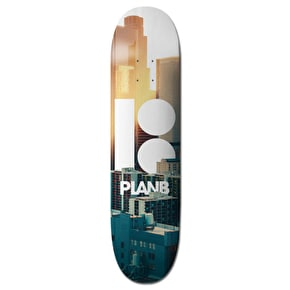 Plan B Skateboard Deck - Team City Pro Spec 8.5''