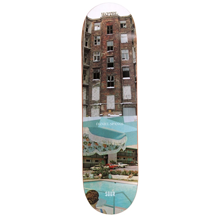 Sour 5-Star Slums Spangs Skateboard Deck 8.25""