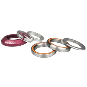 Chilli Pro Integrated Scooter Headset - Red