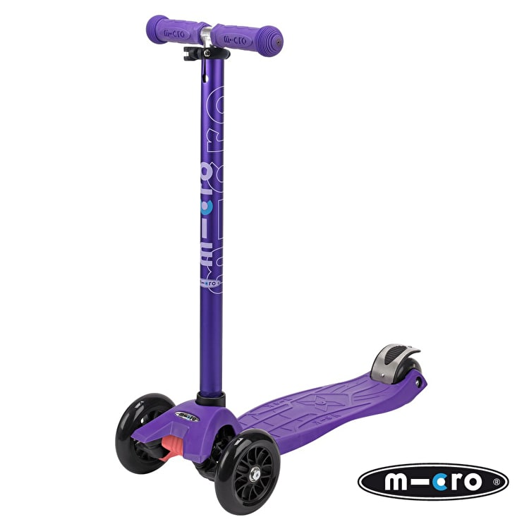 Maxi Micro T-Bar Scooter - Anodized Purple