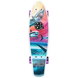 Maui And Sons Wave Predators Complete Cruiser Skateboard 24