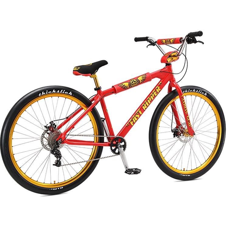 "SE Fast Ripper 29"" Complete BMX - Red Lightening"