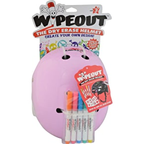 Triple 8 Kids Wipeout Helmet - Hot Pink
