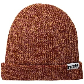 Neff Fold Heather Beanie - Orange/Raspberry