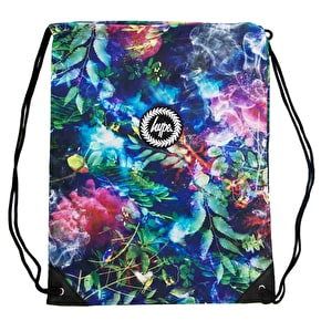 Hype Crest Gym Bag - Night Garden