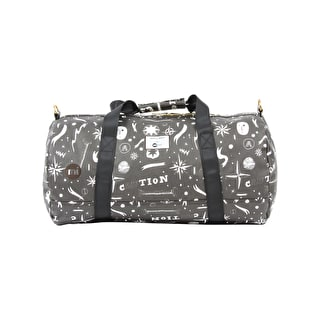 Mi-Pac x Soulland Duffle Bag - Black/White