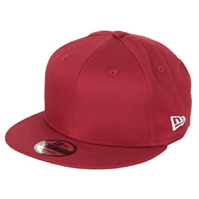 New Era 9FIFTY NE Cotton Snapback Cap - Cardinal
