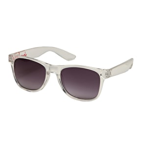 Chocolate Deluxe Sunglasses - Clear
