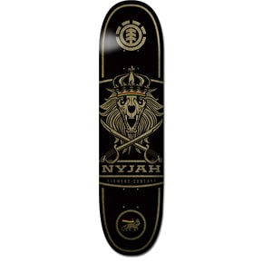 Element Nyjah Concave Lion Skateboard Deck - 8.125