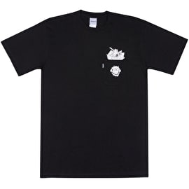 RIPNDIP Nermamaniac T Shirt - Black