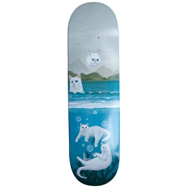 RIPNDIP Unda Da Sea Skateboard Deck - Blue