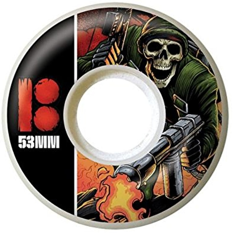 Plan B NP3 Skateboard Wheels - 53mm (Pack of 4)
