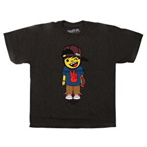 Neff Youth Skatebort T-Shirt - Athletic Heather