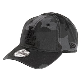 New Era Washed Camo 9Forty LA Dodgers Cap - Midnite Camo