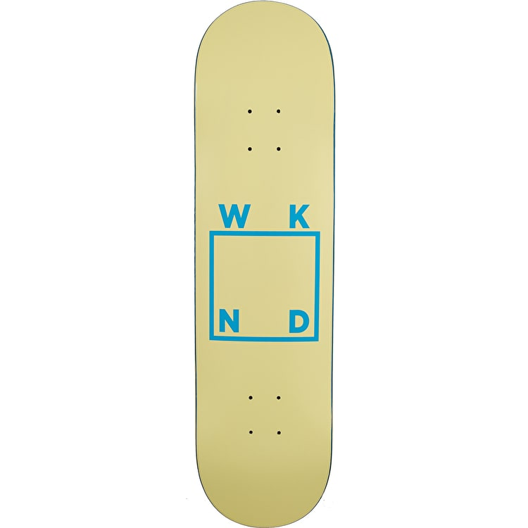 WKND Logo - Skateboard Deck 8.25'' - Cream