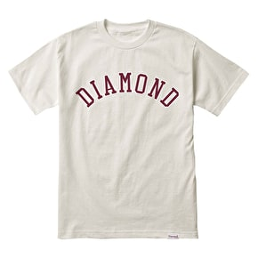Diamond Arch T-Shirt - Cream