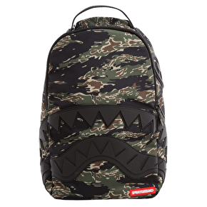 Sprayground Camo Tiger Shark Backpack