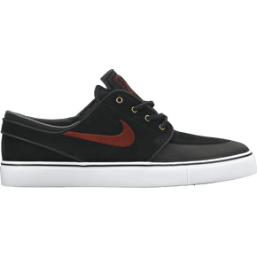 Nike SB Stefan Janoski Premium Shoes - Black/Team Red