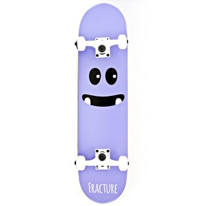 Fracture Skateboard - Lil Monsters V2 Purple 7.5