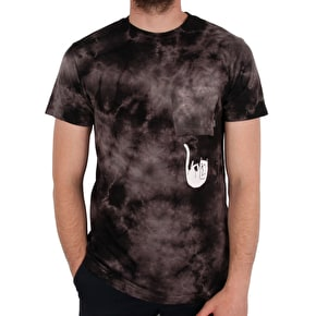 RIPNDIP Lord Nermal Pocket T-Shirt - Black Wash