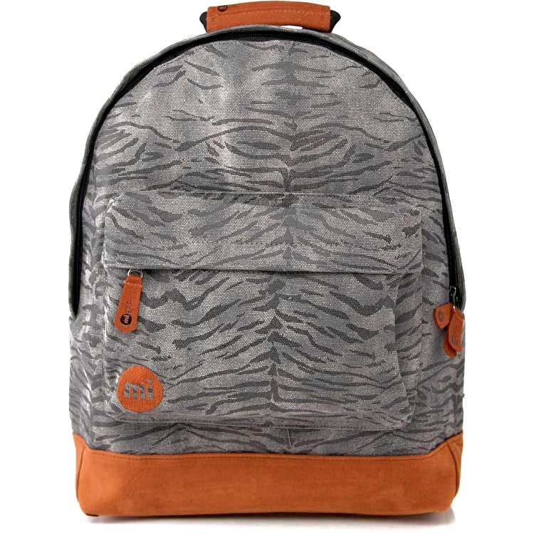 Mi-Pac Tiger Stripe Backpack - Black / Grey