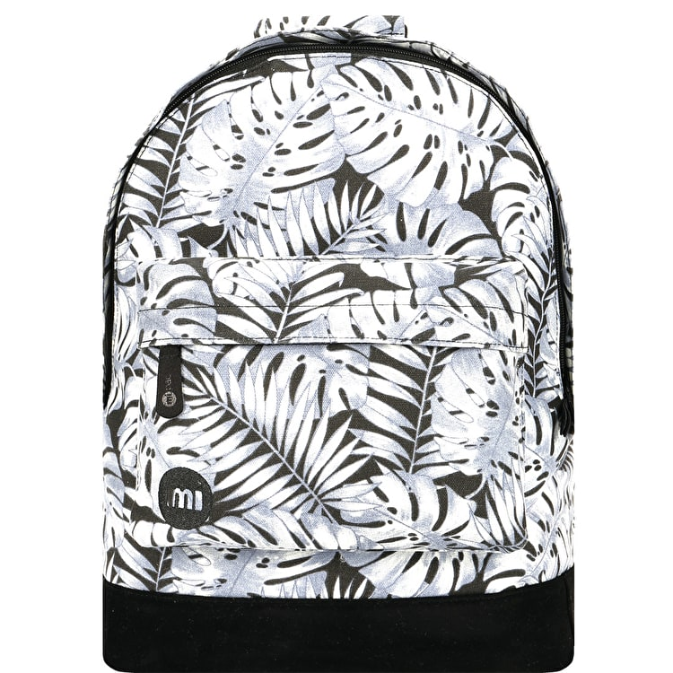 Mi-Pac Tropical Leaf Backpack - Grey