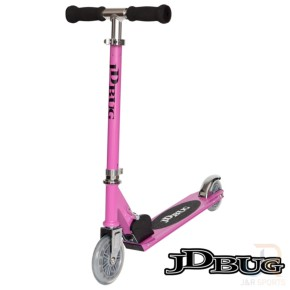 JD Bug Junior Street Scooter - Pastel Pink
