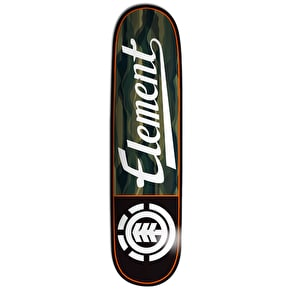 Element Land Lines Script Skateboard Deck - 8