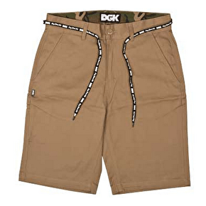 DGK Working Man 3 Chino Short - Khaki